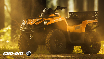 canam off road atv
