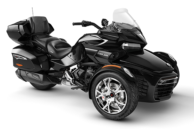 canam spyder f3 limited chrome steel black metallic 2020