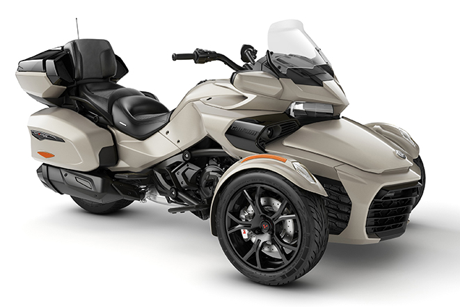 canam spyder f3 limited dark phoenix orange metallic 2020