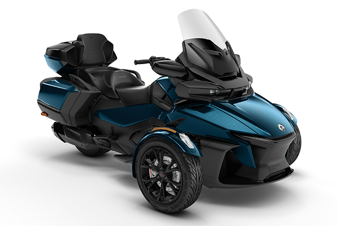 canam sypder rt ltd dark 2020