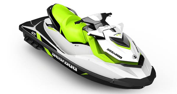 Sea Doo GTI MY17 White Manta Green